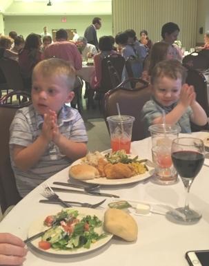 Sawyer and cousin Kaiden