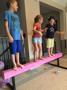 balance beam competition