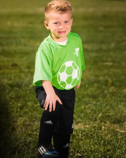 Sawyer's soccer picture