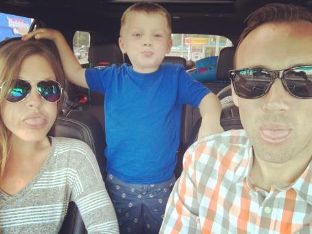 road trip to the family reunion