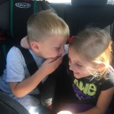 Sawyer getting to spend time with his girl, Paisley