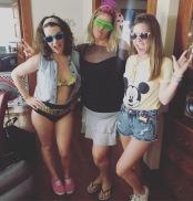 Trina's 80s celebration